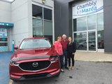 Félicitations pour votre nouvelle Mazda CX5, Chambly Mazda