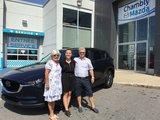 Félicitations à M. et Mme Côté pour votre nouveau CX5 2019, Chambly Mazda