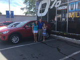 Amanda's rocking her new CX5, City Mazda