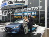 Jessica's first Mazda ,, City Mazda