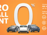 Zero On All VW CPO Sale Event