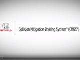 Collision Mitigation Braking System
