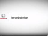 Honda Remote Engine Start