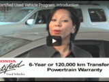 Honda Certified Used Vehicle Program: Introduction