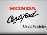 Honda Certified Used Vehicle Program 9: Wheels