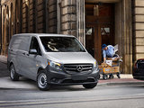 Mercedes-Benz Metris 2016 vs ProMaster City Cargo Van 2016.