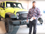 Jeep Wrangler Star Unlimited - Green Lantern