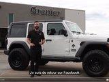 Grenier OFFROAD project - White Jeep Wrangler UNLIMITED Sport