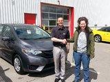 Très satisfaite du prix, du service et de la qualité Honda., Hamel Honda