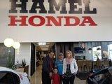 Merci à Ali, Hamel Honda