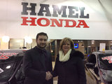 Bravo à toute l équipe, Hamel Honda