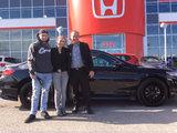 J'ai reçu un excellent service!, Hamel Honda
