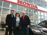 Excellent service, Hamel Honda