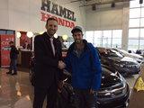 Merci Guillaume!, Hamel Honda