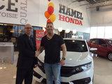 2e Civic en 3 ans, Hamel Honda