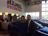 Super service, super équipe, Hamel Honda
