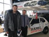 Merci, Hamel Honda
