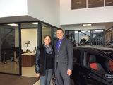 Cliente satisfaite de Laval, Hamel Honda