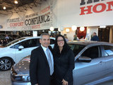 Cliente satisfaite, Hamel Honda
