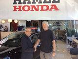 Satisfait, Hamel Honda