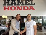 Bel accueil, Hamel Honda