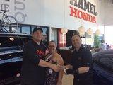 Merci Honda St-Eustache !, Hamel Honda