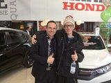 Merci Sébastien !, Hamel Honda