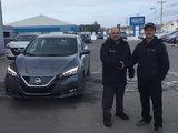 First 2018 Leaf!, Alma Nissan