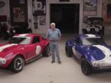 Jay Leno à bord de la nouvelle Corvette Grand Sport de l'équipe Super Performance!