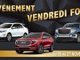 VENDREDI FOU ! : Promotions spéciales chez Chevrolet Buick GMC de L'Île-Perrot