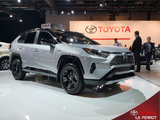 La gamme de véhicules hybrides Toyota au Salon de l'auto de Montréal
