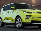 The 2020 Kia Soul EV Unveiled at the Los Angeles Auto Show