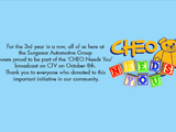 CHEO Needs You