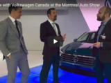 Interview with Volkswagen Canada at the Montreal Auto Show
