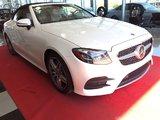 Mercedes-Benz E400 2018 4matic Cabriolet/rabais de 15 000$