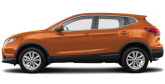 Orange monarque métallisé