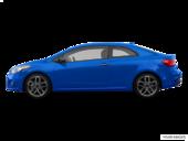 Bleu corsa métallisée