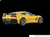 Jaune Corvette racing