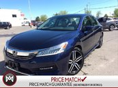 2017 Honda Accord Touring  Leather Seats LOW KMS Navi