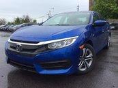 Honda Civic LX  HEATED SEATS  REAR CAM  BLUETOOTH  KEYLESS ENT 2016
