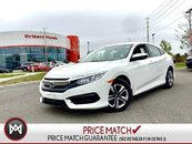 Honda Civic LX Sedan Honda Certified ONE Owner Clean Carfax 2018