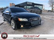 2010 Audi S5 V8 QUATTRO NEW TIRES/BRAKES AUDI RED LEATHER SUMMER READY