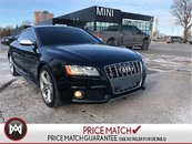 2010 Audi S5 V8 QUATTRO COUPE AUDI RED LEATHER PADDLE SHIFT