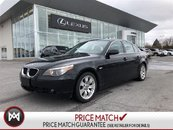BMW 5 Series 525xi LOW KM - AWD - LOADED AND CLEAN 2006