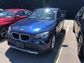 2012 BMW X1 NAVIGATION AWD LEATHER LOW KM