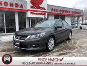 2014 Honda Accord Sedan EX-L* SUNROOF! LEATHER! HEATED SEATS! BACK UP CAM!