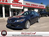 2014 Honda Accord Sedan Touring* LOADED! LEATHER! SUNROOF! X2 SAFETY CAMS!