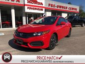 2015 Honda Civic Coupe EX! COUPE! WARRANTY! SUNROOF! AUTOMATIC!