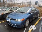 2006 Honda Civic Cpe DX-G *** AS TRADED ***