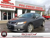 2012 Honda Civic Cpe Si***$0 DOWN* $34.97 WEEKLY! NAVI! SUNROOF! 6 SPD!
